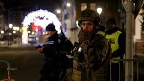 'I saw shots land 10 metres in front of me': Strasbourg witnesses speak to Euronews