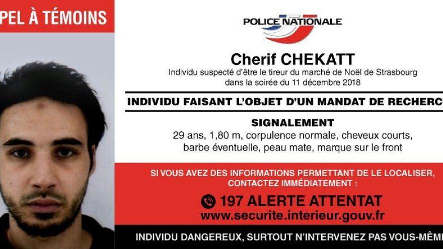 50 Stunden Flucht vor dem Tod: Wer war der Angreifer von Straßburg?