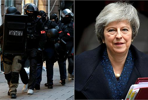 Live updates: Strasbourg shooting manhunt and May faces no-confidence vote