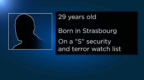 Un delincuente radicalizado, la ficha policial del supuesto autor del atentado en Estrasburgo