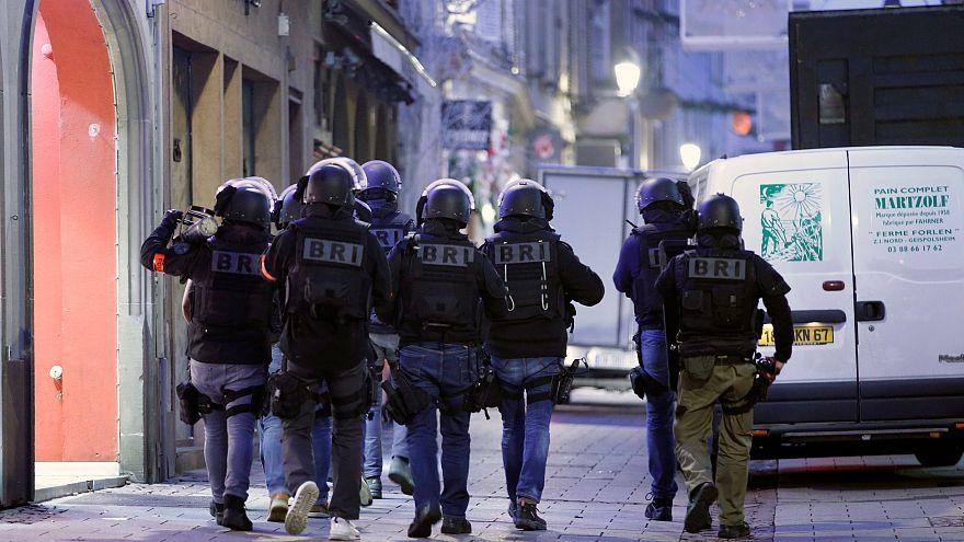 Estrasburgo em estado de sítio