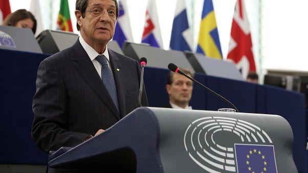 Ν.Αναστασιάδης στο Ευρωκοινοβούλιο: Η Ευρώπη έχει καθήκον να συμβάλει στην επίλυση του Κυπριακού