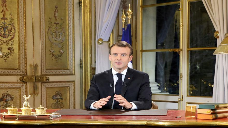 President Macron makes a televised address to the nation
