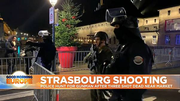 Strasbourg shooting: Euronews journalist on being caught in lockdown after deadly attack