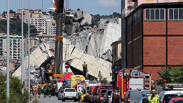 Генуя четыре месяца спустя после обрушения моста Моранди