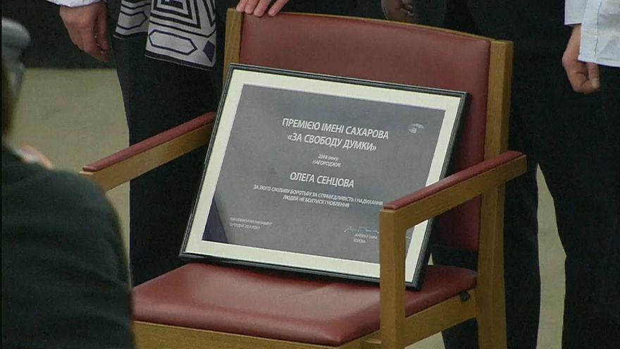 Сахаровская премия для Олега Сенцова