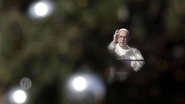 Katolik dünyasının ruhani lideri Papa Francis