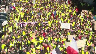 """Los """"chalecos amarillos"""" temen que el atentado de Estrasburgo restringa sus protestas"""