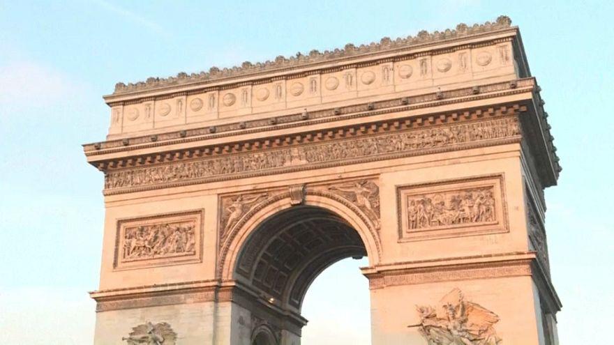 La réouverture de l'Arc de Triomphe