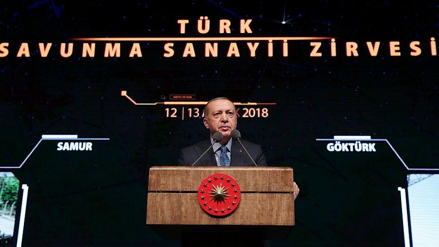 Ερντογάν: Λόγω της Κύπρου αναπτύξαμε την αμυντική μας βιομηχανία