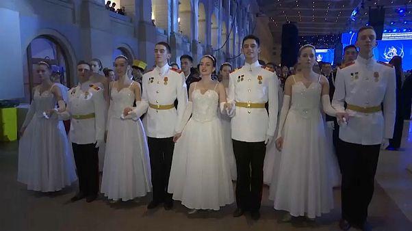 Большой кадетский бал в Москве