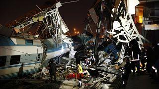 Video | YHT kılavuz trene çarptı: 9 kişi hayatını kaybetti, 47 kişi yaralandı