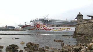 Los cruceristas estadounidenses invaden La Habana