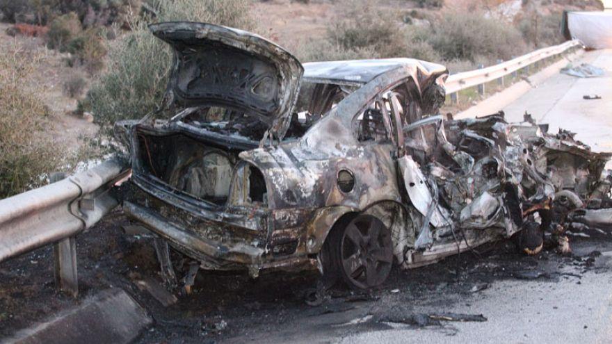 Καβάλα: Δυστύχημα στην Εγνατία - Απανθρακώθηκαν τρεις άνθρωποι
