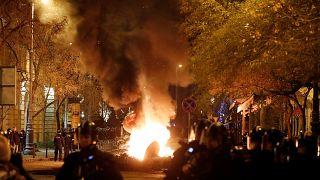 """بودابست تتظاهر ضدّ """"قانون العبودية"""" ومن أجل استقلالية القضاء"""