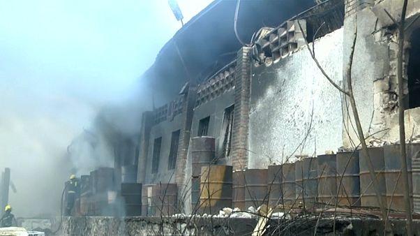RDC : incendie dans un entrepôt électoral