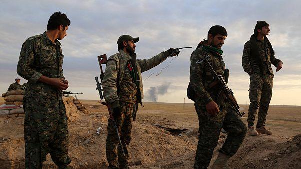 ABD destekli Suriye Demokratik Güçleri Fırat'ın doğusunda ilerleme sağladı
