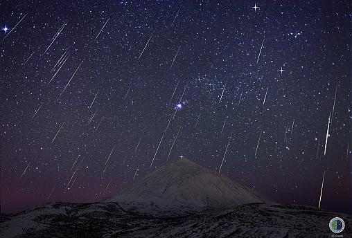'Flurry of shooting stars' to light up the sky