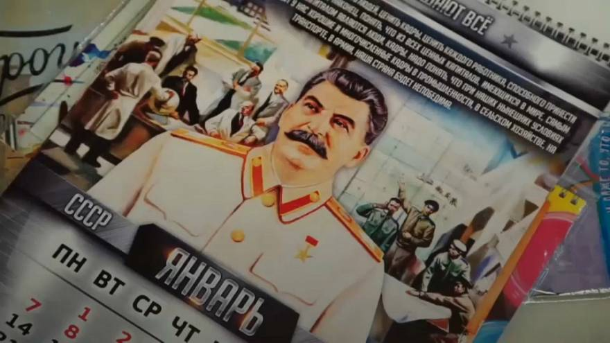 Stalin calendars still selling out in Russia