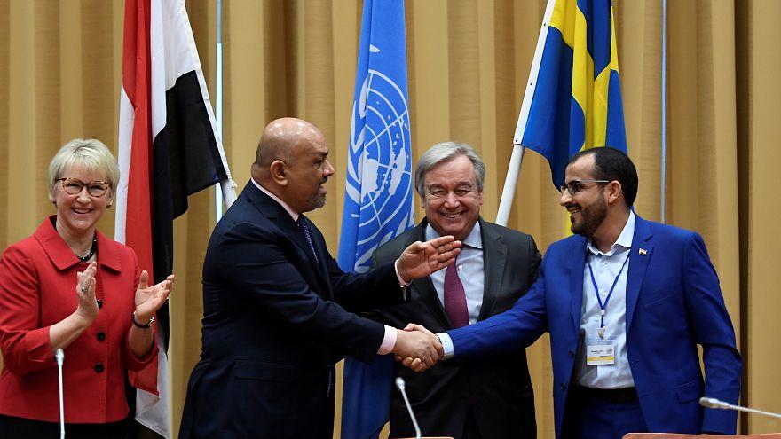 الأمين العام للأمم المتحدة يعلن التوصل إلى اتفاق هدنة بشأن مدينة الحديدة اليمنية