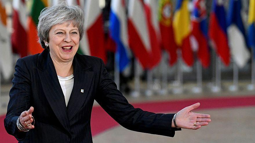 May az EU vezetőinél lobbyzik