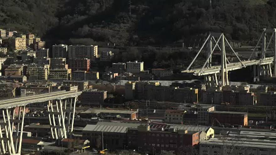 Colapso da Ponte Morandi ainda faz sofrer Génova
