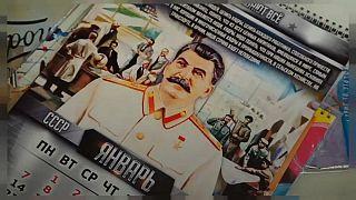 Stalin-Kalender sind in Russland im Trend