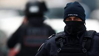French armed police conduct operation in Strasbourg's Neudorf district