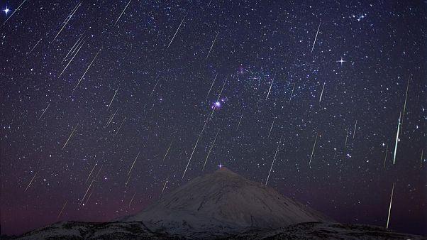 Yılın son meteor yağmuru Geminid en yoğun bu gece gerçekleşecek