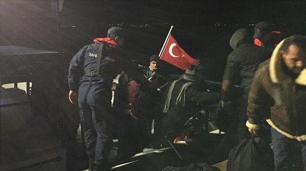 نجات ۸۳ مهاجر سرگردان در آبهای ترکیه