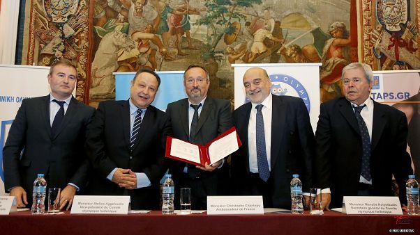Συνεργασία Ελλάδας - Γαλλίας ενόψει των Ολυμπιακών Αγώνων Παρίσι 2024