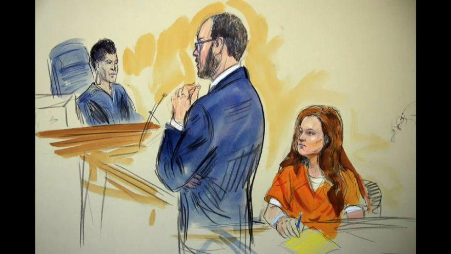Mutmaßliche russische Spionin Butina vor US-Bundesgericht