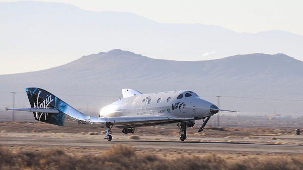 """""""سفينة الفضاء 2"""" بعد عودتها من رحلتها الفضائية"""