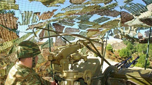 Κρήτη: Εντυπωσιακές ασκήσεις του πυροβολικού