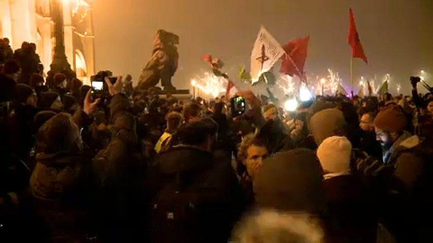 Budapest: 2. Demonstration gegen neues Arbeitsgesetz