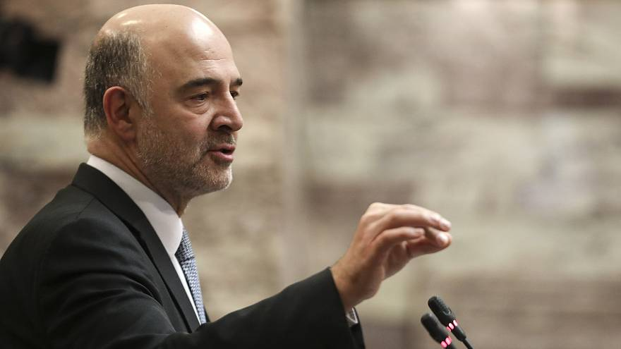 Πιέρ Μοσκοβισί: Η Ελλάδα στο δρόμο της ανάπτυξης με κοινωνικά μέτρα