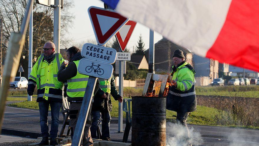 Auch in Paris: Gelbe Westen wollen am 3. Advent weiter protestieren