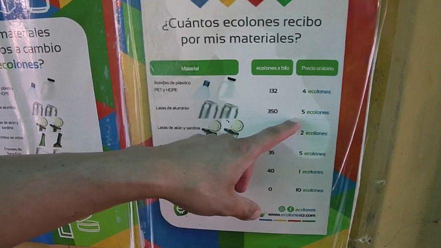 Dinero por basura, la revolución de los ecolones en Costa Rica