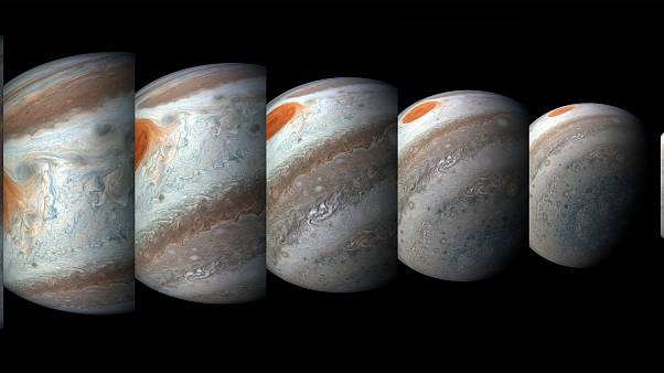 Juno: Νέες εντυπωσιακές φωτογραφίες από τον Δία!