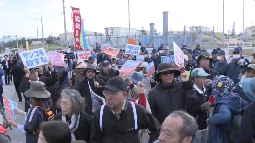 Une base militaire américaine qui dérange les Japonais