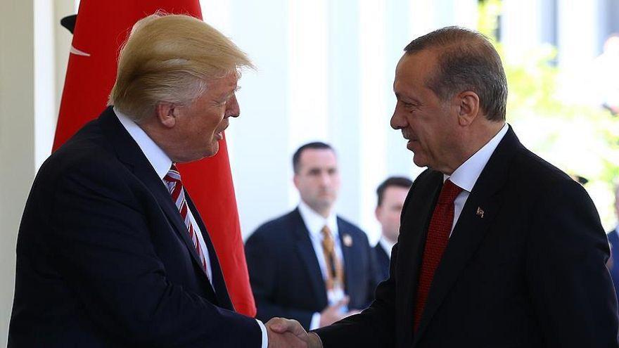 Türkiye Cumhurbaşkanı Tayyip Erdoğan - ABD Başkanı Donald Trump