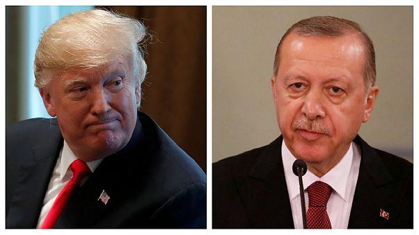 تنش بین ترکیه و شبه نظامیان کرد؛ اردوغان با ترامپ تلفنی گفتگو کرد