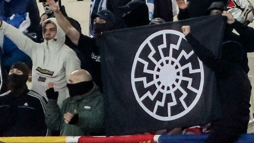 Βαριά «καμπάνα» από την UEFA στην Ελλάδα για το ναζιστικό πανό