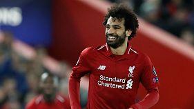 صلاح يتوج بجائزة بي بي سي لأفضل لاعب افريقي للعام الثاني على التوالي