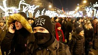 Hungary's 'slave law': third consecutive day of protests over labour reforms