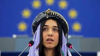 """الأيزيدية نادية مراد وتجسيد على الأرض لمعنى """"نوبل"""".. ريع الجائزة سيذهب لبناء مستشفى"""
