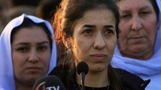 IŞİD'in esir aldığı Nobel ödüllü Nadia Murad'dan memleketine hastane