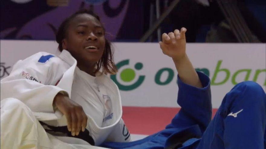 الجيدو: الفرنسية كلاريس أغبينينو تتوج بالذهب في بطولة الماسترز في الصين