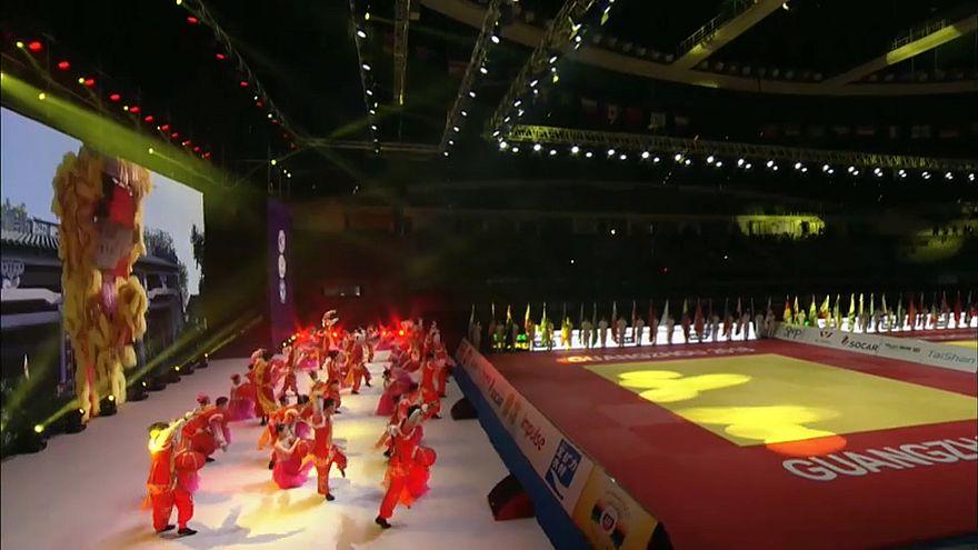 Guangzhou acoge los World Judo Masters
