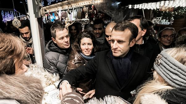 Fransa Cumhurbaşkanı Macron, Strazburg saldırısında hayatını kaybedenleri anma törenine katıldı